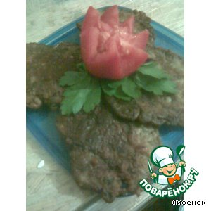Рецепт Печеночно-грибные оладки