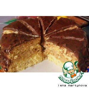 Рецепт Ореховый мини-тортик для микроволновки