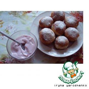 Рецепт Пончики со сливами