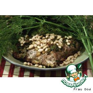 Рецепт Свинина с кедровыми орешками