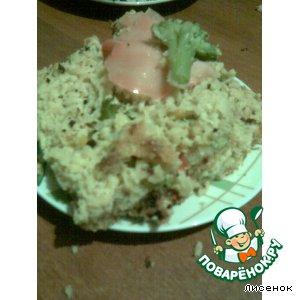 Рецепт Закусочный пирог с курицей и овощами