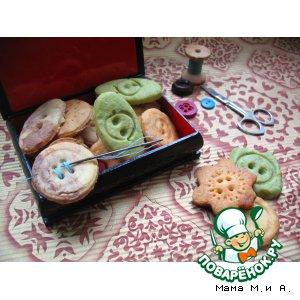 Рецепт Печенье «Пуговки»