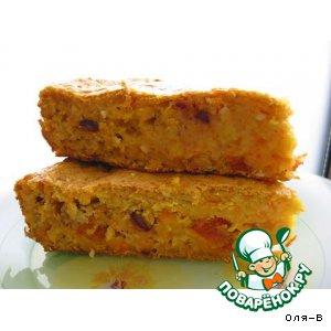 Рецепт Тыквенно-овсяный пирог