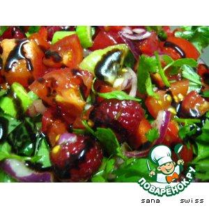 Рецепт Фруктово-овощной салат для гурманов