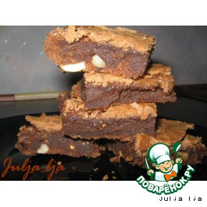 """Рецепт Шоколадные """"батончики"""" с орехами"""