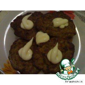 Рецепт Оладьи из печени с рисом