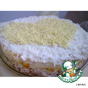 "Рецепт Торт-салат ""Амурный"""
