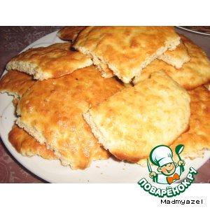 Рецепт Английское домашнее овсяное печенье