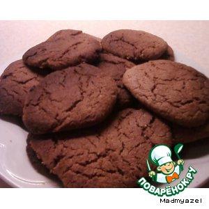 Готовим Шоколадное печенье от Джеймса Оливера вкусный рецепт приготовления с фото пошагово
