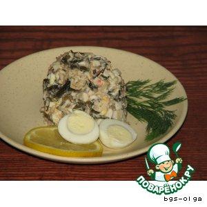 """Рецепт Салат """"Море вкуса"""""""