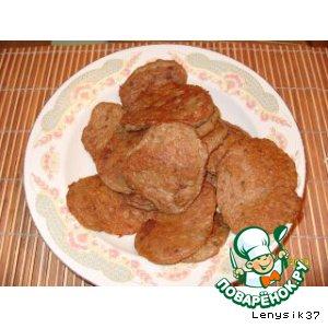 Рецепт Оладушки из печени и картофеля