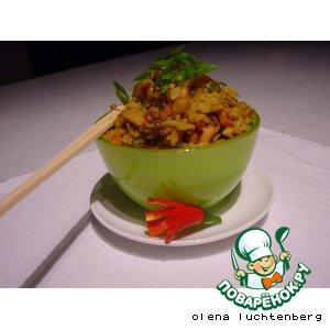 Рецепт Nasi - индонезийский жареный рис