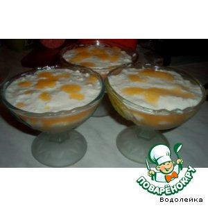 Рецепт Десерт творожно-фруктовый