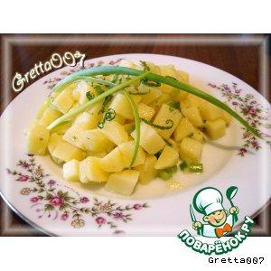 Рецепт Брамборовый салат