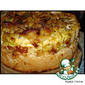 Рецепт Веймарский луковый пирог