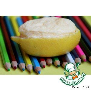 Рецепт Лимонные корзиночки с суфле