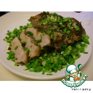 Рецепт Свинина с пряной корочкой