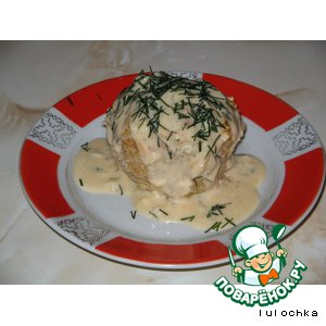 Рецепт Колобок под соусом