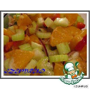 """Рецепт Салат """"Оранжевое настроение"""""""