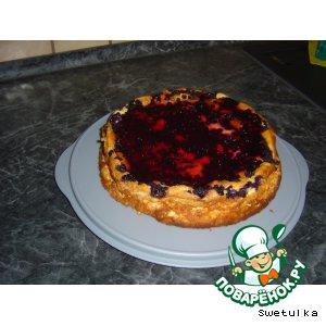 Рецепт Сырный пирог с черникой
