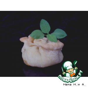 Рецепт Мини-пирожки из рубленного картофельного теста с мясом