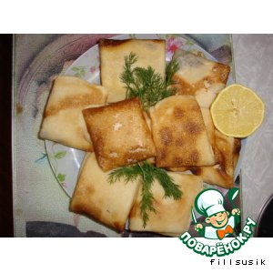 Рецепт Мамины блинчики с картошкой
