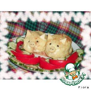 Рецепт Картофельные поросята - Картулипорес