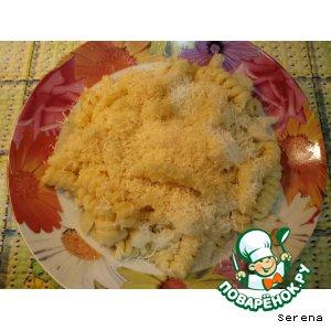 Рецепт Макароны с цветной капустой