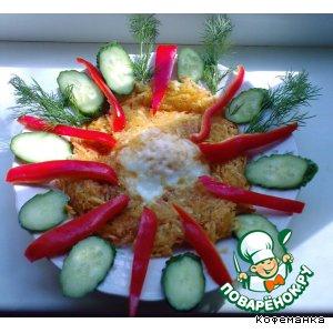 Рецепт Картофель с яйцом, на завтрак