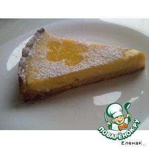 Рецепт Лимонно-манговый пирог