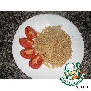 Рецепт Макароны с тунцом