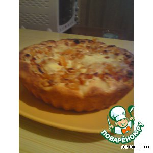 Пирог с курагой рецепт видео 160