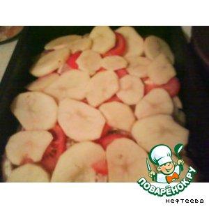 Рецепт Морской язык с картофелем