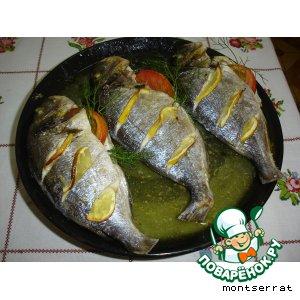 Рецепт Рыба, запеченная с лимоном