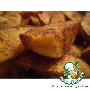 Рецепт: Картошка по-деревенски