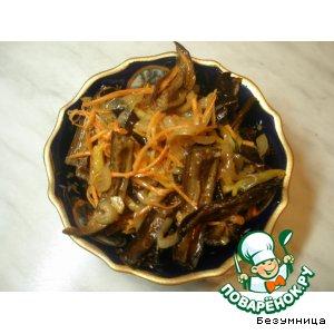 Рецепт Сушеные баклажаны по-корейски
