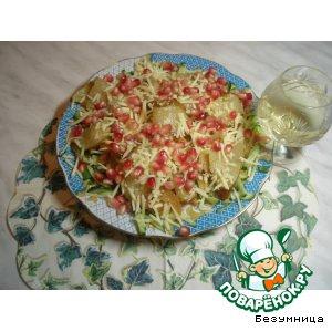 Рецепт Изысканый салат с жареной грушей