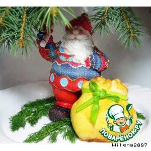 Рецепт Рождественский лосось в соленом тесте