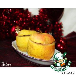 Рецепт Яблоки с мясом