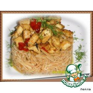 Рецепт Курица с базиликом по-тайски