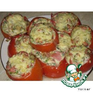 Рецепт Фаршированные сочные помидорки