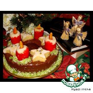 Рецепт Adventskranz - рождественский венок