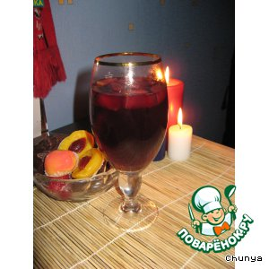 Рецепт Глинтвейн с фруктами