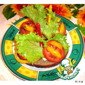 Рецепт Бутерброд с растительным маслом