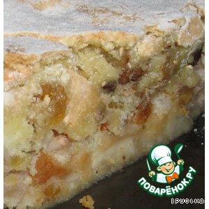 Как готовить Пирог с яблоками простой рецепт с фото пошагово