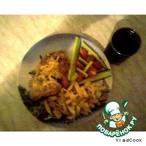Рецепт Курица в чесночном соусе