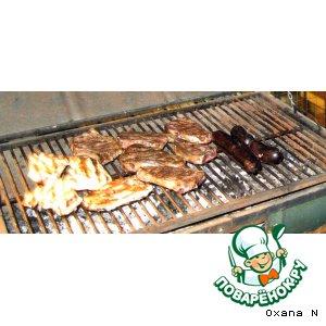 Рецепт Мясо по-аргентински asado