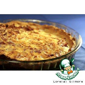 Рецепт Лотарингский киш  quiche lorraine