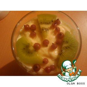 Рецепт Десерт для НЕлюбителей фруктов