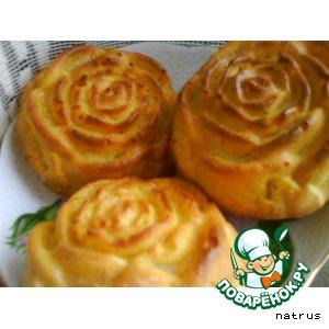 Рецепт Тыквенные маффины с яблоками